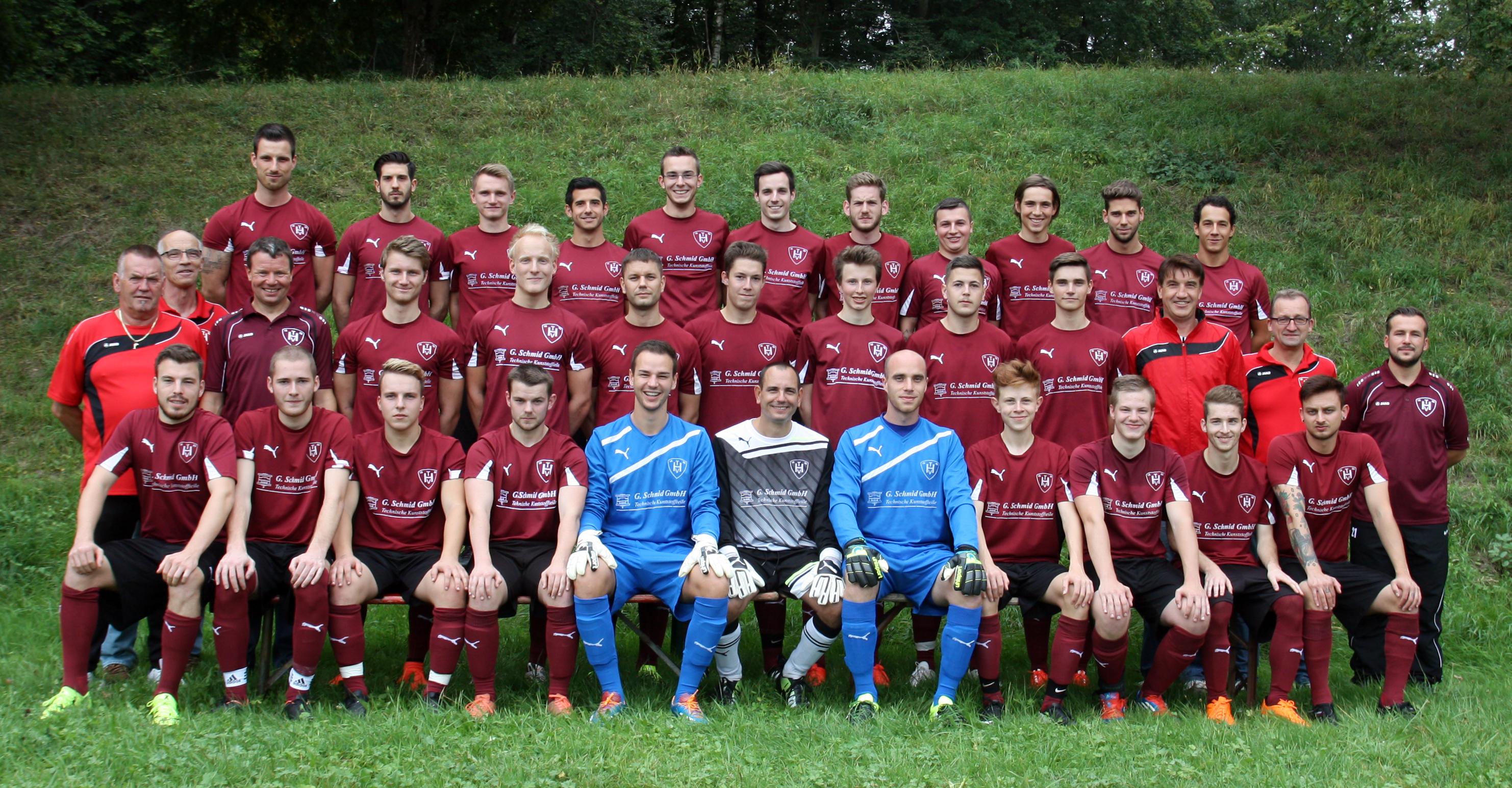 Aktive Mannschaft Fußball TV Hochdorf