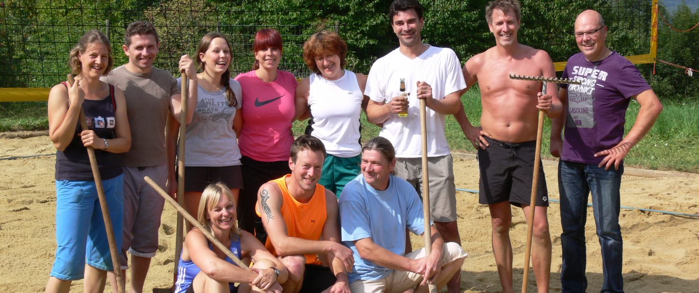 Gruppenbild Volleyball des TV Hochdorf