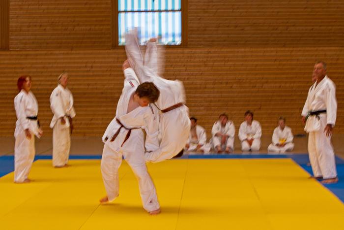 Wettkampf Judo TV Hochdorf