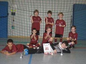Mannschaftsbild TVH F-Jugend