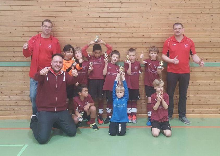 Dettingen 3. Platz Fussball TVH