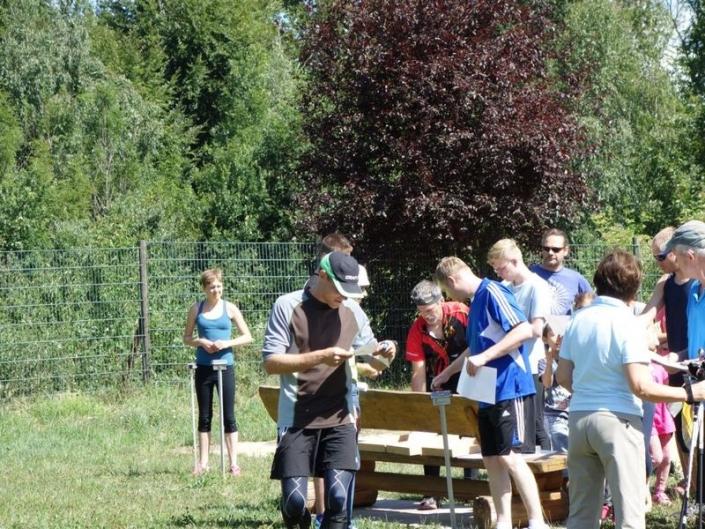 Orientierungslauf Badminton TV Hochdorf