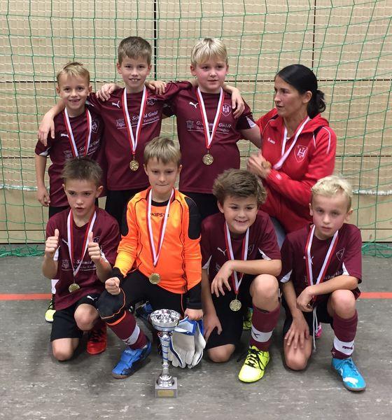 TVH F-Jugend erster Turniersieg