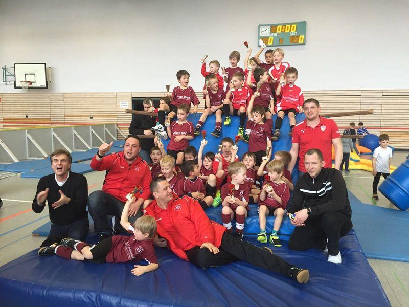Unsere Bambini's vom TV Hochdorf beim Turnier in Plattenhardt