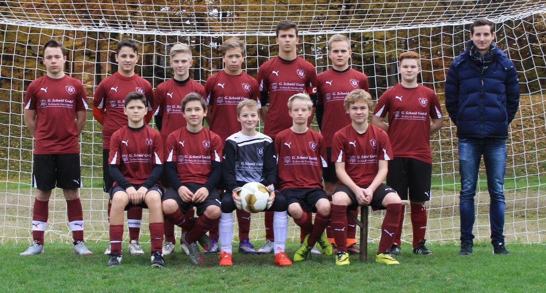 TV Hochdorf C-Junioren 2015/16 (Jahrgang 2001/2002)