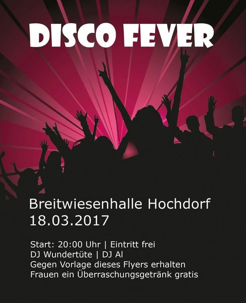 Disco Fever TV Hochdorf Party
