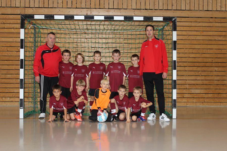 Mannschaftsbild 2015-16 TVH F-Jugend