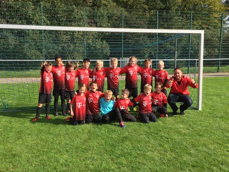 TV Hochdorf F-Jugend Mannschaftsbild 17-18