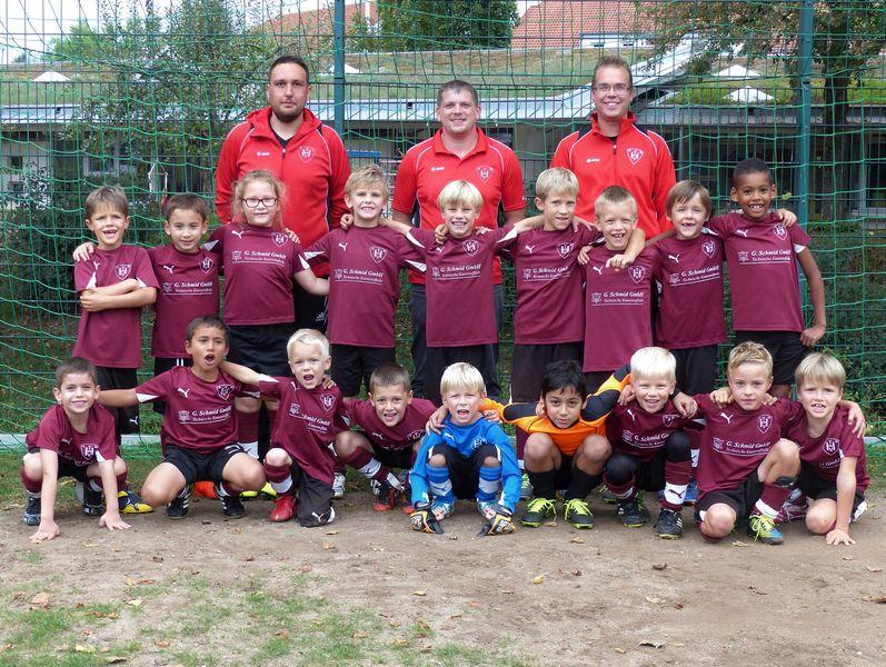 TVH Mannschaftsbild Knirpse 2016-17