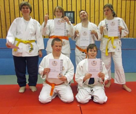 Die Hochdorfer Judokas sind fit