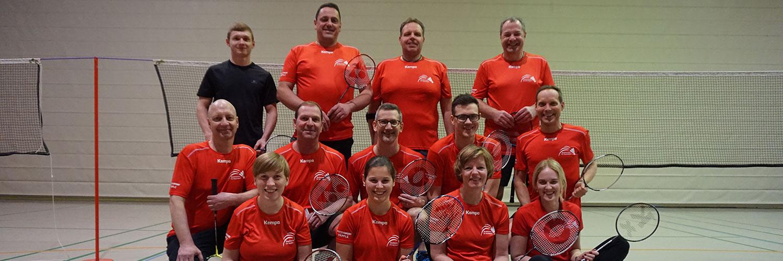 TV Hochdorf Abteilung Badminton Gruppenbild