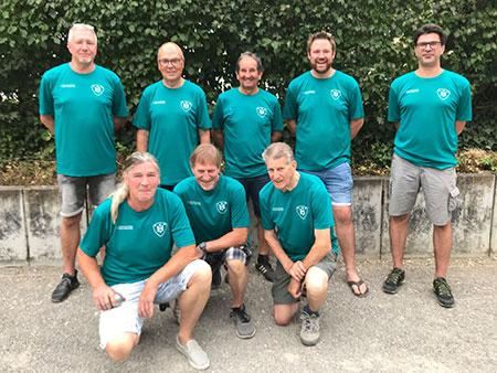 TV Hochdorf Abteilung Boule Gruppenbild